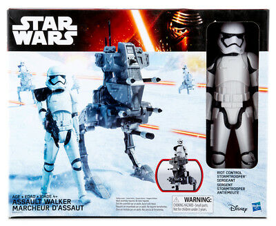 Star Wars The Force Awakens Assault Walker & Riot Control Stormtrooper Sergeant