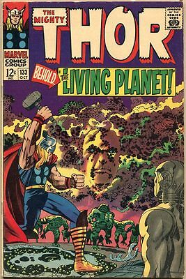 Thor #133 - VG - 1st Full Appearance Of Ego