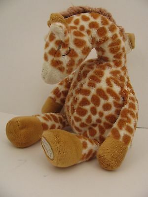 Cloud B Plush Gentle Giraffe Hanging Baby Infant Toy Soothing Sounds Comforting