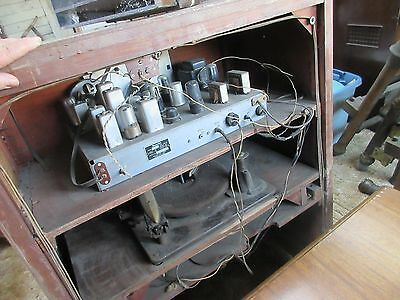 Antique Recordio By Wilcox-Gay Tube Radio Stereo Record Player - Parts / Repair