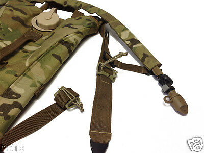 Multicam Hydration Pack Drink Tube bungee clip strap managers or keepers
