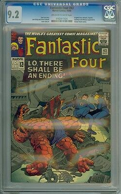 Fantastic Four #43 - CGC Graded 9.2
