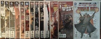 All Star Western #0-12 DC New 52 (13 Comics Total)