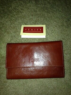 New With Tags. Texier French Leather Wallet Beautiful!!