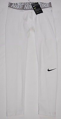 New With Tag  Boys Nike Base Layer Compression  Training  Tights  Size L
