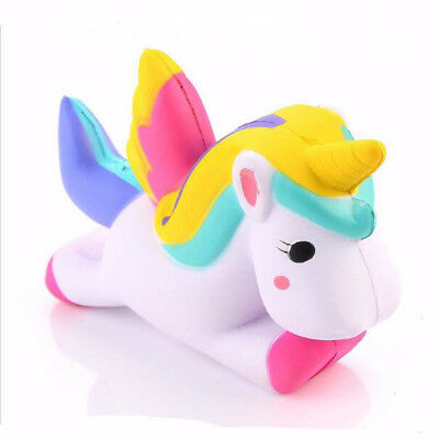 Gift Flying Unicorn Horse 1 Pcs  Squishy 15 cm Doll Squeeze Slow Rising Toys