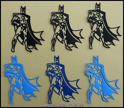 Batman Die Cuts X 8,boys,card Making,embellishments,album,toppers,toys,girls