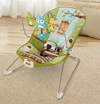 Fisher-Price Cute Baby Bouncer - Forest Fun EXCELLENT 2nd hand condition