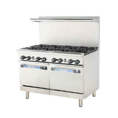 Turbo Air - TARG-36G2B - 48 in 2 Burner Gas Range w/36 in Left Side Griddle