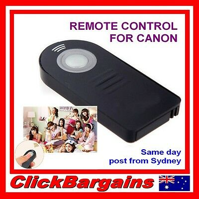Wireless REMOTE CONTROL / FOCUS and SHUTTER RELEASE for most CANON DSLR cameras