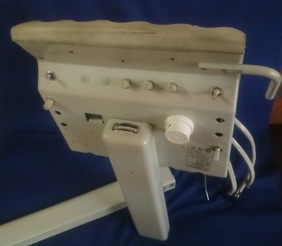 DCI Equipment Dental Unit PRO30C Euro Style with cuspidor & assistant instrument
