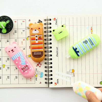 Cute  Cartoon Stationary Correction Tape Roller for Students 3m*5mm