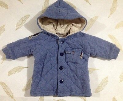 Jack & Milly Baby Boys Hooded Jacket 000