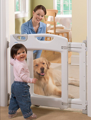 The First Years Everywhere Gate - Baby Child Safety Gate Pet Barrier