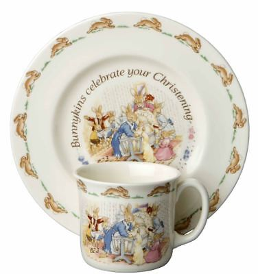 Bunnykins by Royal Doulton - Christening Collection 2pc Baby Set