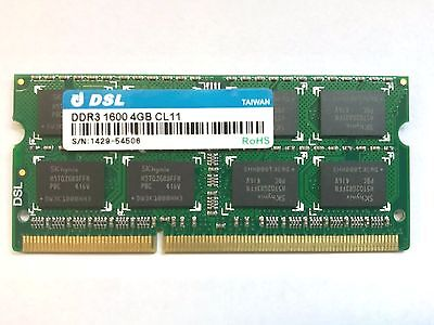 Sodimm Ddr3 4Gb 1600 Cl11  For  Pc & Laptop Ram