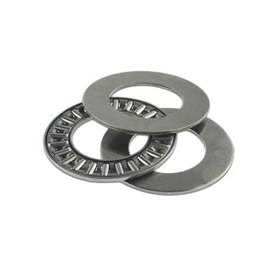 5PCS 10x24x2mm AXK1024 Thrust Needle Roller Bearing ABEC-1 Each With Two Washer