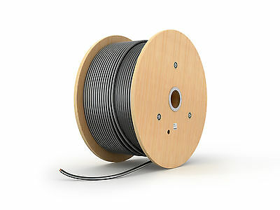 50M - 10mm 6943X 3 CORE SWA STEEL WIRE ARMOURED CABLE ARMOUR ~ 2 DAY DELIVERY <<