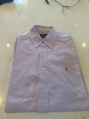 Mens Ralph Lauren Oxford Cotton shirt - size L