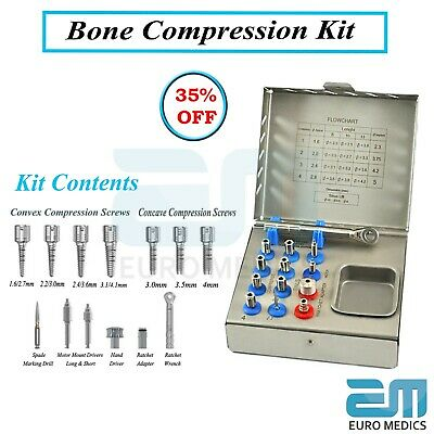 Bone Compression Kit Prosthodontic Surgical Tool Dental Implant Bone Condenser