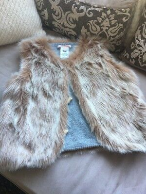 Country Road Fur Vest Girls Size 12
