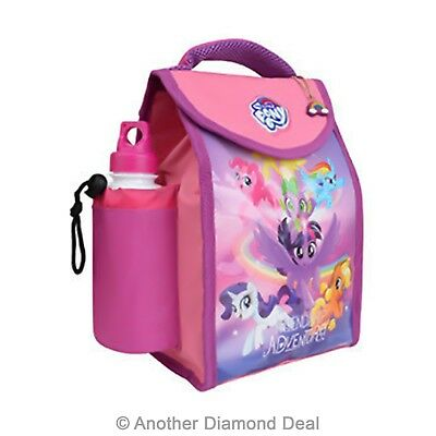My Little Pony Deluxe Insulated Lunch Bag With Bottle Brand New