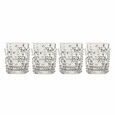 Nachtmann Crystal - Punk Whisky Tumbler 348ml Set of 4 (Made in Germany)