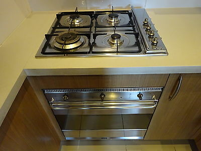 smeg oven and gas cooktop