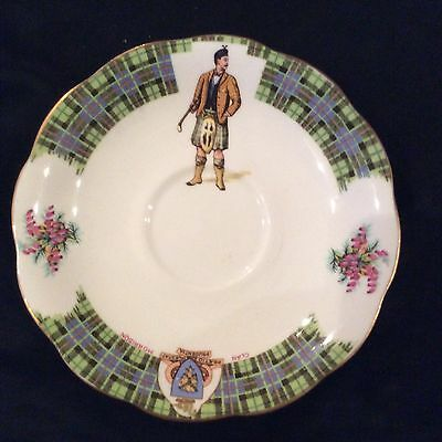 Royal Standard Bonnie Scotland Fine Bone China Saucer/Side Dish Clan Morrison