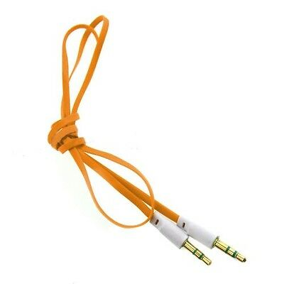 3,5mm Stereo Audio AUX Klinke Kabel Stecker MP3 Auto Laptop Handy Kopfhörer