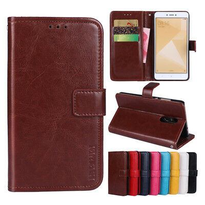 For Xiaomi Redmi Note 4X 5 Plus Phone Case Flip PU Leater Wallet Card Slot Cover