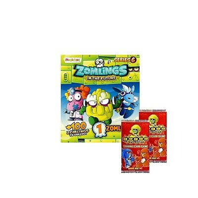 ZOMLINGS IN THE FUTURE SERIES 6 ~ ZOMLING FIGURE PACKS ~ + 2 GoGo Card