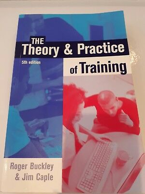 The Theory & Practice of Training 5th edition, Buckley & Caple