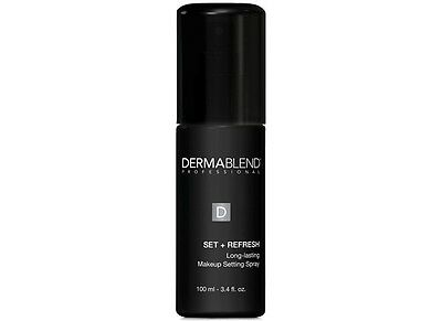 Dermablend Set and Refresh Long Lasting Makeup Setting Spray -New -3.4 oz