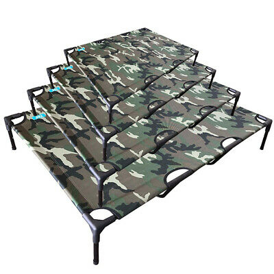 New Heavy Duty Pet Dog Bed Camo Coloured Trampoline Hammock Canvas Dog Bed Sale
