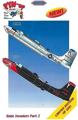 1/48 PYN-UP DECALS 48031; A-26B Babe Invaders Part 2