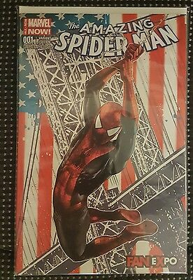 The Amazing Spiderman #1 Fan Expo Variant Exclusive Marvel Now! Comic