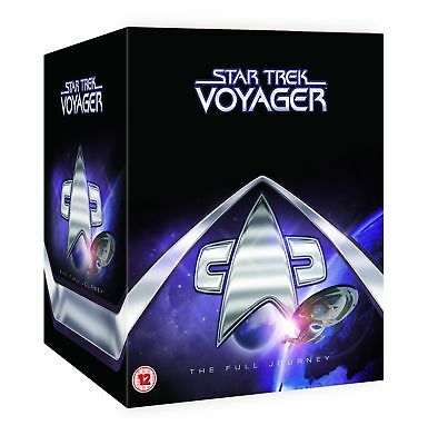 Star Trek Voyager The Complete Collection DVD Boxst New Kate Mulgrew Jeri Ryan