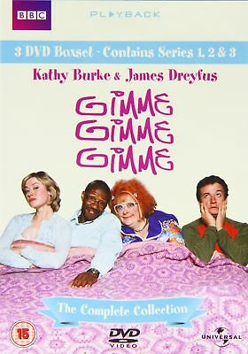 Gimme Gimme Gimme Complete BBC Boxset DVD 1999 New Free Post  Kathy Burke
