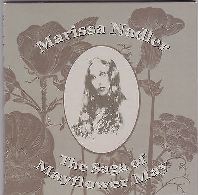 MARISSA NADLER / The Saga Of Mayflower May / CD 1st Press FOLDOUT-CARDBOARD MINT