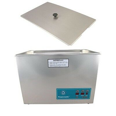 Crest Powersonic Ultrasonic Cleaner 5.25 Gallon Digital Timer, Heat, PC & Basket