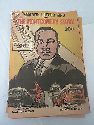 1956 MLK Martin Luther King Montgomery Story Comic Book