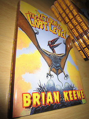 Brian Keene RETURN TO THE LOST LEVEL 1st/HB MINT Signed/Limited Thunderstorm