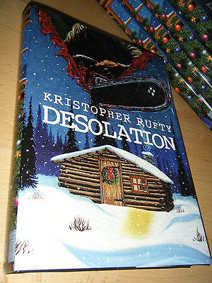Kristopher Rufty DESOLATION 1st/HB MINT Signed/Limited Thunderstorm Books