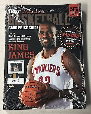 2017 Beckett Basketball Annual Price Guide - QTY AVAIL - FREE SHIP