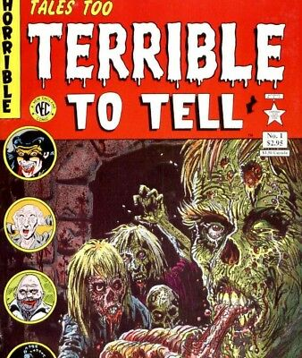 TALES TOO TERRIBLE TO TELL & TALES OF THE MYSTERIOUS TRAVELLER - Comics on DVD