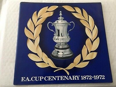 1872-1972 F.A.Cup Centenary Esso Medal Collection***Collectors***