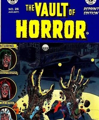 VAULT OF HORROR & WEB OF MYSTERY - Vintage US Horror & Mystery Comics on DVD