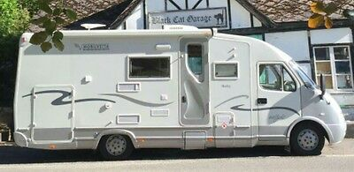 Motorhome Rent Go ANYWHERE UK Any Mileage alowance extremely economical Diesel