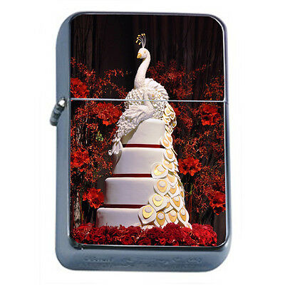 Wedding Cake D3 Windproof Dual Flame Torch Lighter Refillable